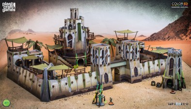 Bourak Terrain - Plast Craft Games