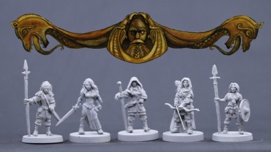 Bronze Age Miniatures Viking Females #2