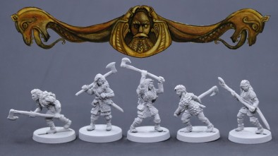 Bronze Age Miniatures Viking Females #1