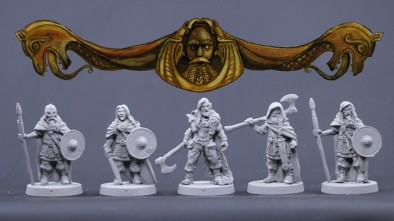 Bronze Age Miniatures Viking Males #2