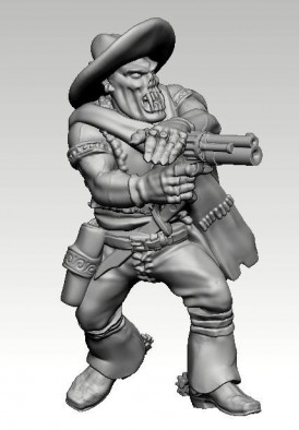 Clint Orkwood #1 - Knuckleduster Miniatures