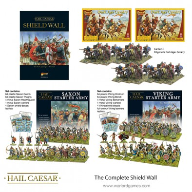 Complete Shield Wall Bundle