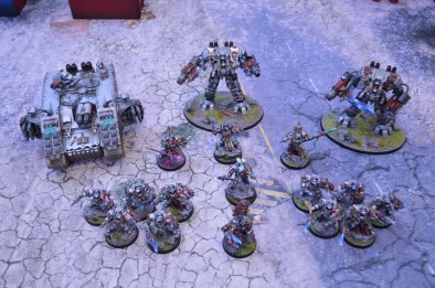 SN Battle Reports - Grey Knights Army