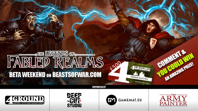 Fabled Realms Beta Weekend – Friday