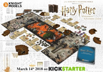 Harry Potter Miniatures Adventure Game (Components)