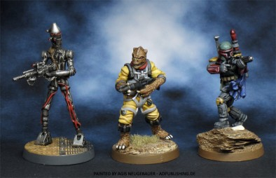 Imperial Assault Miniatures #1 by agis