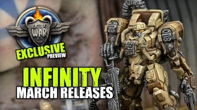 New Infinity & Aristeia! Releases - March 2018!