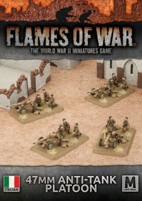 Italian AT Gun Platoon - Flames Of War