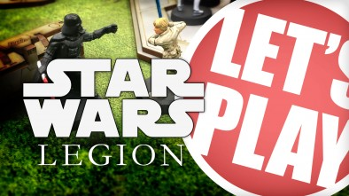 Let's Play: Star Wars Legion // 500 Point Game