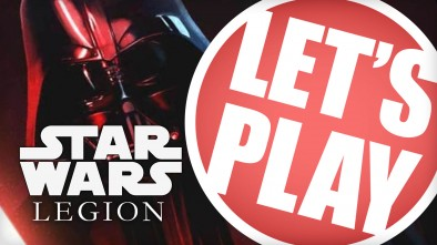 Let's Play: Star Wars Legion - 600 Point Squads Upgrade Battle
