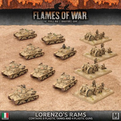 Lorenzo's Rams - Flames Of War