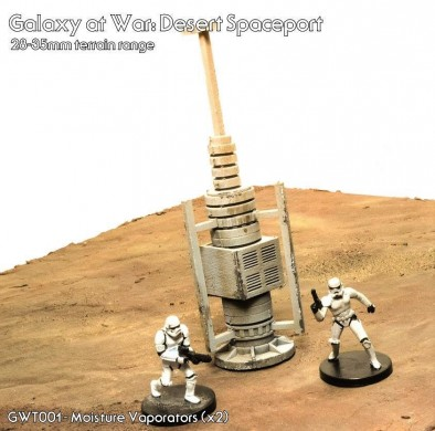 Multiverse Gaming Terrain Galaxy at War Moisture Vaporators