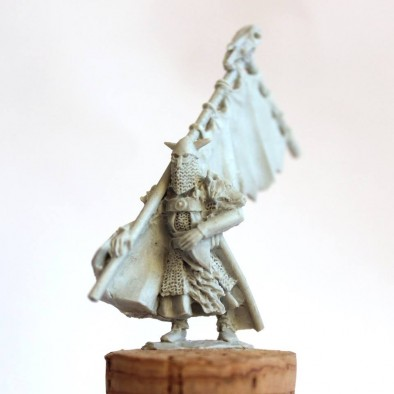 Northern Barbarian Banner Bearer - Unreleased Miniatures