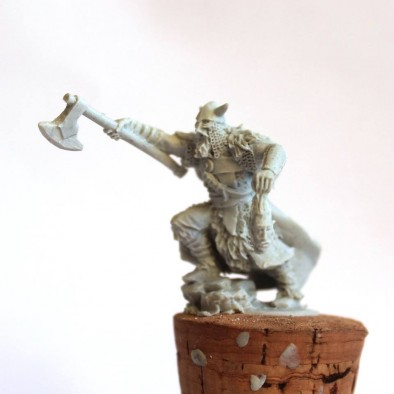 Northern Barbarian Champion - Unreleased Miniatures