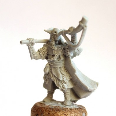 Northern Barbarian Hornblower - Unreleased Miniatures