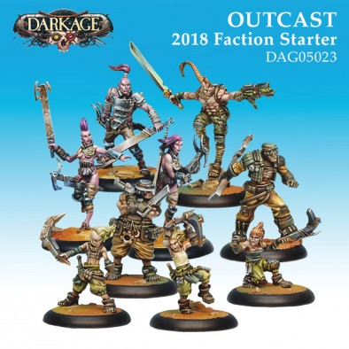 Outcast 2018 Faction Starter