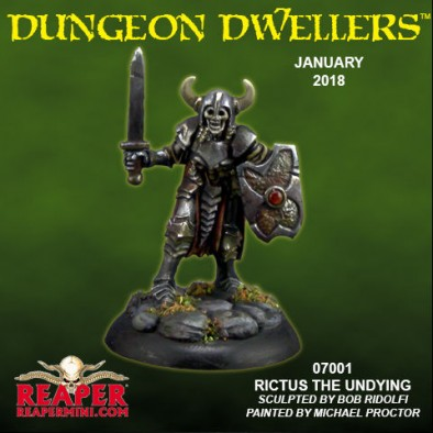 Rictus The Undying Dungeon Dwellers - January 2018