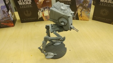 Star Wars Legion Painting VLOG P8 AT-ST