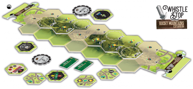 Whistle Stop - Rocky Mountains Expansion (Contents) - Bezier Games