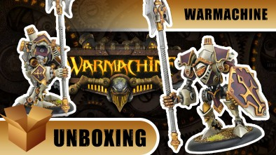 Warmachine Unboxing: Devout Menoth Warjack