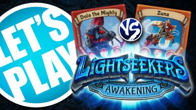 Let's Play: Lightseekers - Mountain vs Tech Starter Decks