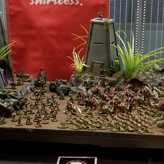 Stunning 40K Displays For Armies On Parades