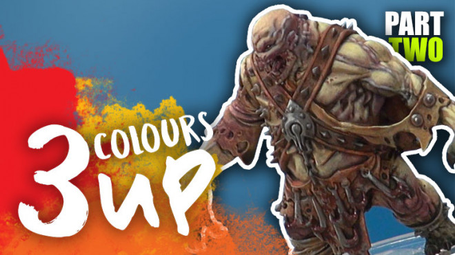 3 Colours Up: Painting A Fabled Realms Druggoi Glutton – Part Two