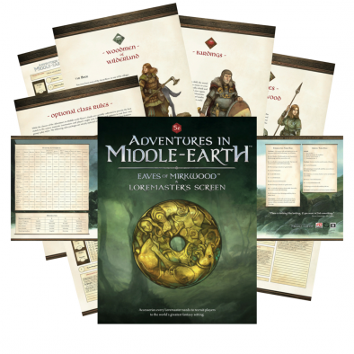 Adventures In Middle-earth Eaves Of Mirkwood - Cubicle 7