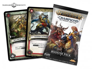 Age Of Sigmar Champions Cards