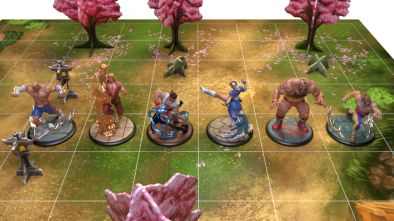 All Figures - Street Fighter Miniatures Game