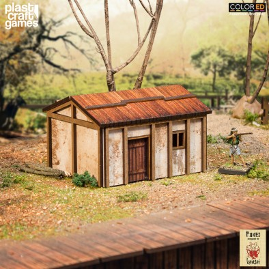 Ashigaru House - PlastCraft Games