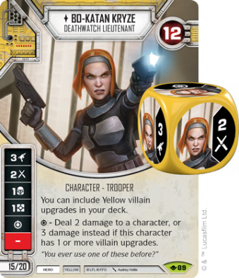 Bo Katan Kryze - Star Wars Destiny