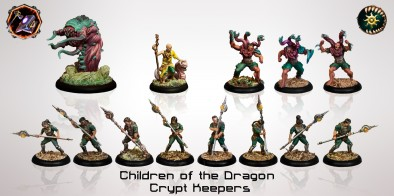 Children Of The Dragon Crypt Keepers - Forge Of Destiny