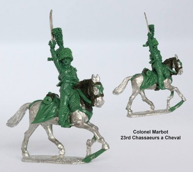 Colonel Marbot 23rd Chassaeurs a Chaval - Perry Miniatures