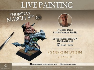 Confrontation Painting Stream