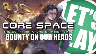 Let's Play: Core Space - A Bounty On Our Heads