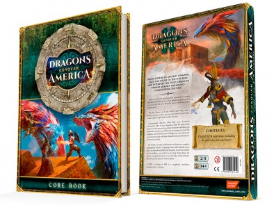 Dragons Conquer America Core Book - Burning Games