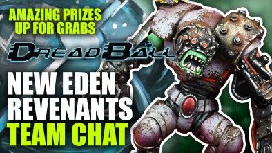 Dreadball 2nd Edition: New Eden Revenants - Team Chat
