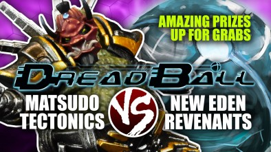 Dreadball 2nd Edition: Matsudo Tectonics Vs New Eden Revenants