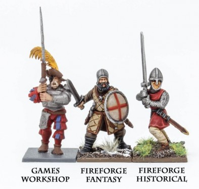 FireForge Games - Northern Infantry Scale