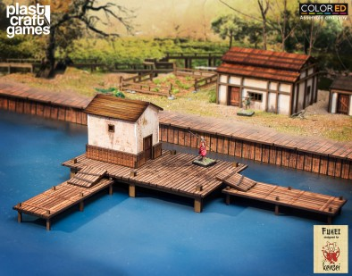 Fishing Pier - PlastCraft Games