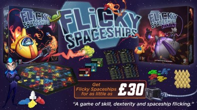 Flicky Spaceships Kickstarter