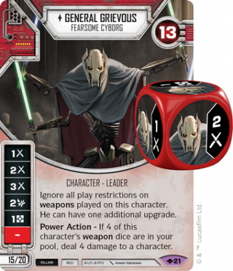 General Grievous - Star Wars Destiny