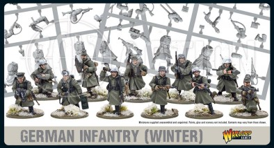 German Infantry (Winter) - Warlord Games