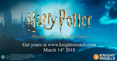 Harry Potter Miniatures Adventure Game - Knight Models