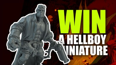 Mantic Games Reveal First Hellboy Miniature + YOU Could Win One To Paint!