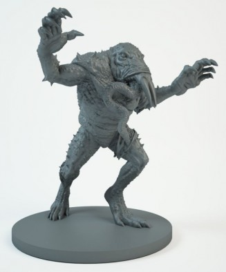 Hellboy Monster Preview - Mantic Games