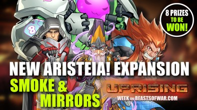 "Infinity Uprising: New Aristeia! Expansion ""Smoke & Mirrors"""