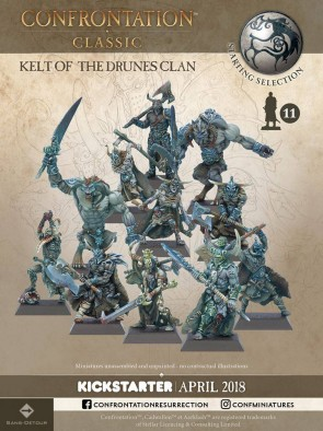 Kelt Of The Drunes Clan - Confrontation