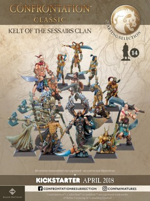 Kelt Of The Sessairs Clan - Confrontation